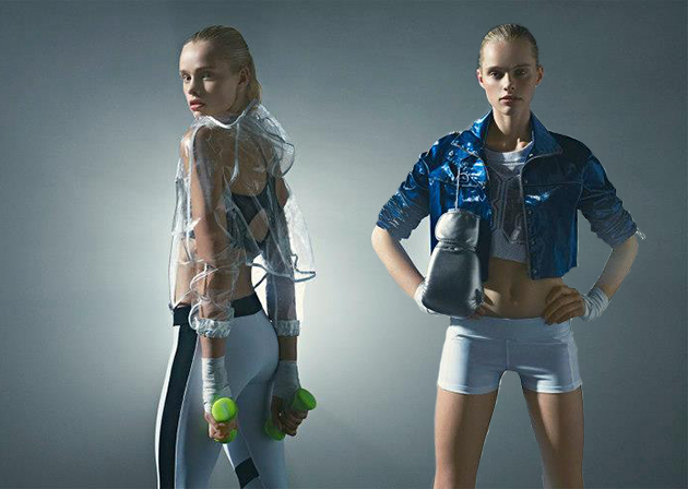 Bershka launches new fashion-sport 2013 collection